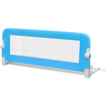 Kék leesésgátló totyogóknak 102 x 42 cm - ingyenes szállítás