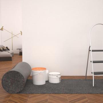 Szürke, csúszásmentes takarófilc 50 m 280 g/m² - utánvéttel vagy ingyenes szállítással