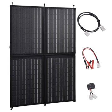 összecsukható napelemtöltő 100 W 12 V - utánvéttel vagy ingyenes szállítással