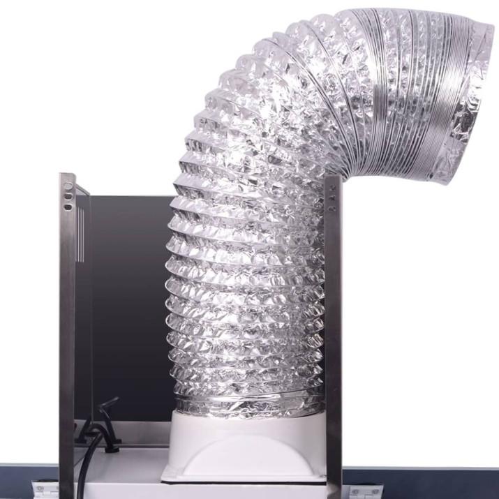 érintőkijelzős szagelszívó 900 mm fehér - utánvéttel vagy ingyenes szállítással