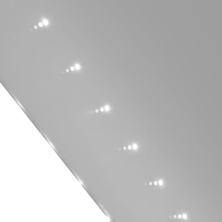 Fürdőszobatükör LED-fényekkel 100 x 60 cm (Ho x Ma) - ingyenes szállítás