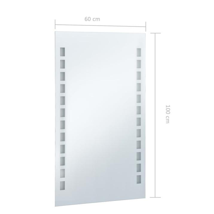 LED-es fürdőszobai falitükör 60 x 100 cm - utánvéttel vagy ingyenes szállítással