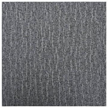 Szürke öntapadó PVC padlólapok 5,11 m² - utánvéttel vagy ingyenes szállítással