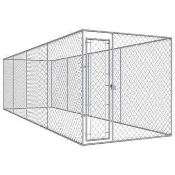 Kültéri kutyakennel 7,6 x 1,9 x 2 m - utánvéttel vagy ingyenes szállítással