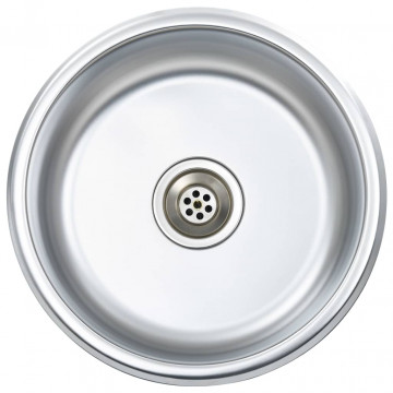 Rozsdamentes acél mosogatótálca szűrővel és bűzelzáróval - utánvéttel vagy ingyenes szállítással