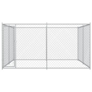 Kültéri kutyakennel 4 x 4 x 2 m - utánvéttel vagy ingyenes szállítással