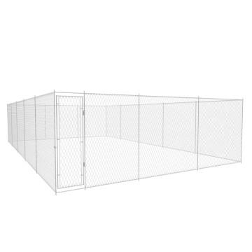 Kültéri horganyzott acél kutyakennel 10 x 6 x 2 m - utánvéttel vagy ingyenes szállítással