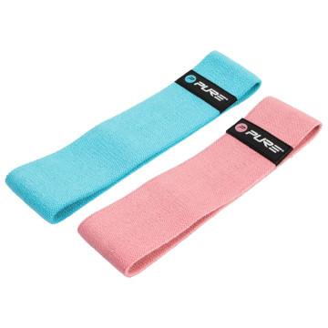 Pure2Improve kék és rózsaszín edzőszalagszett - utánvéttel vagy ingyenes szállítással