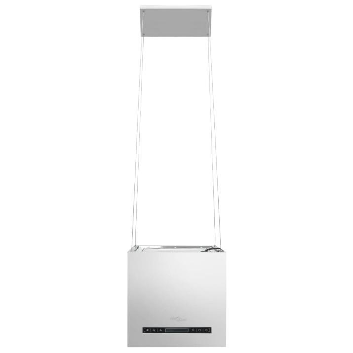 Rozsdamentes acél LCD érintőképernyős sziget páraelszívó 37 cm - utánvéttel vagy ingyenes szállítással