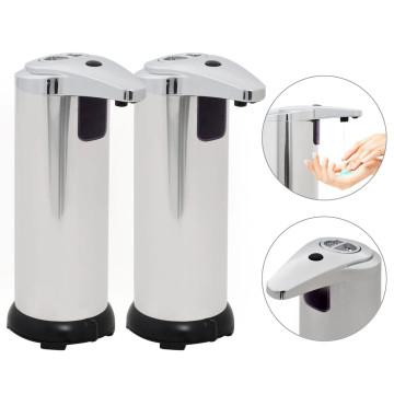 2 db automata szappanadagoló infravörös érzékelővel 600 ml - ingyenes szállítás