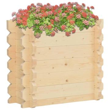 42 mm vastag tömör lucfenyő virágtartó 100 x 50 x 87,8 cm - utánvéttel vagy ingyenes szállítással