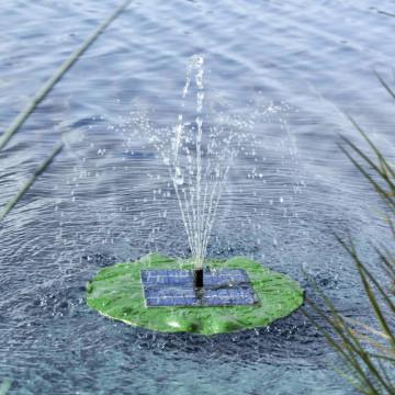 HI lótuszlevél alakú napelemes úszó szökőkútszivattyú - utánvéttel vagy ingyenes szállítással