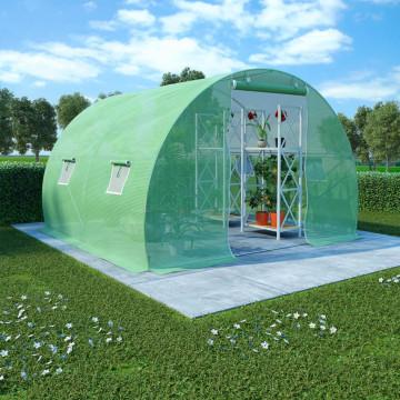 6 m²-es acélalapzatú melegház 3 x 2 x 2 m - utánvéttel vagy ingyenes szállítással
