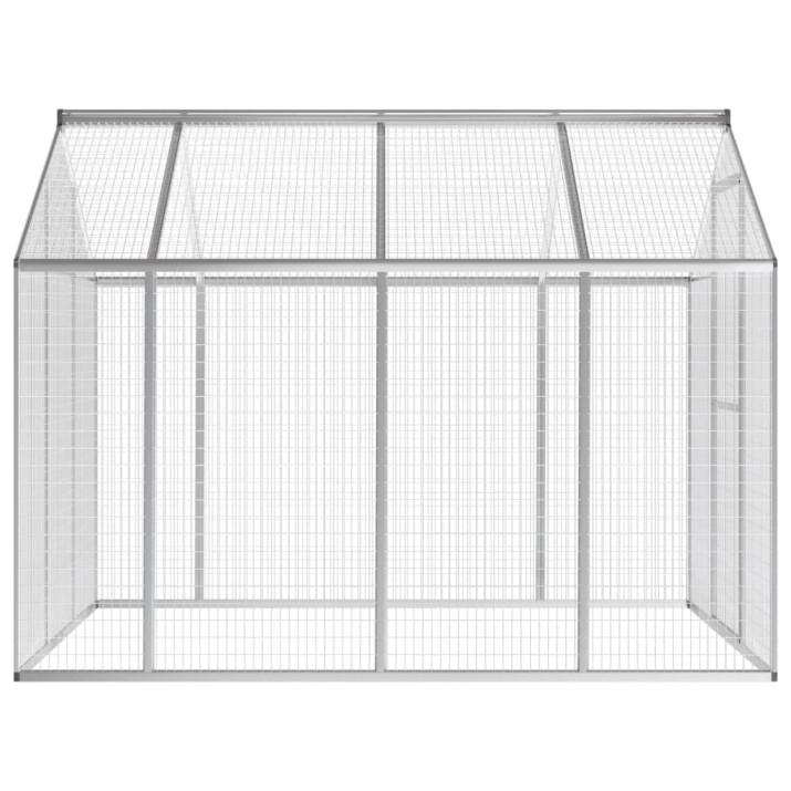 Kültéri alumínium madárház 178 x 242 x 192 cm - utánvéttel vagy ingyenes szállítással
