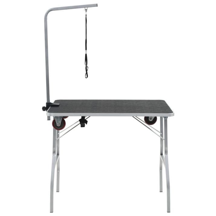 Hordozható kutyakozmetikai asztal görgőkkel - utánvéttel vagy ingyenes szállítással