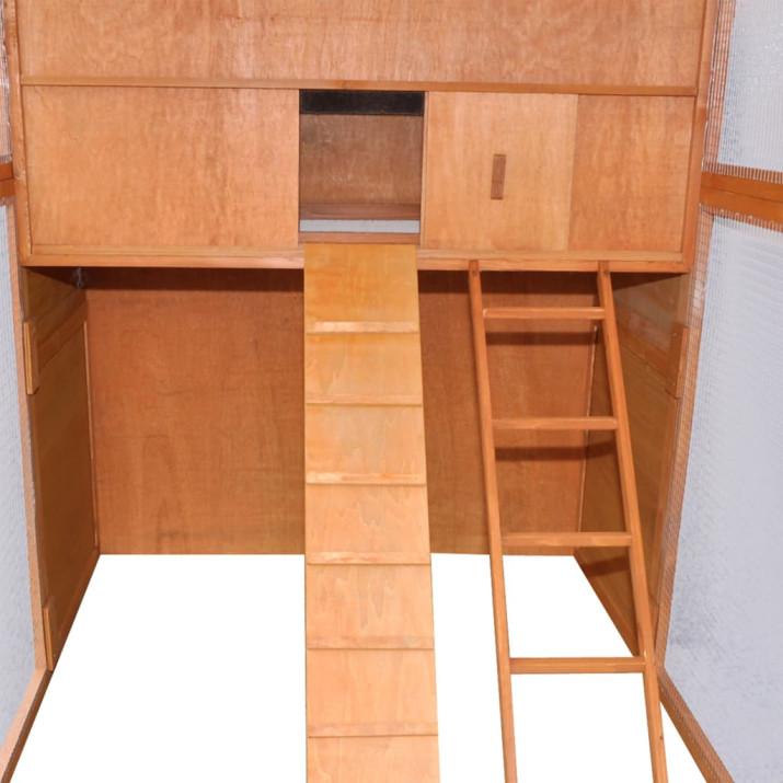 Fa tyúkól 295 x 163 x 170 cm - utánvéttel vagy ingyenes szállítással