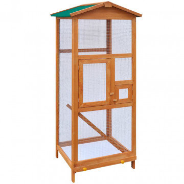 Fa madárkalitka 65x63x165 cm - ingyenes szállítás