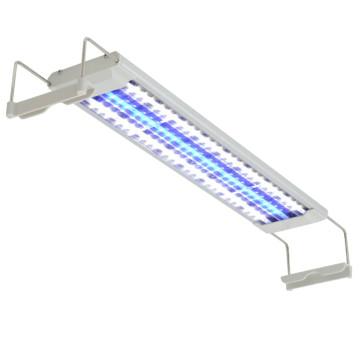 LED akvárium lámpa IP67 50-60 cm alumínium - ingyenes szállítás