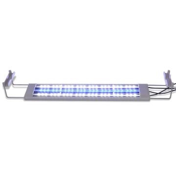 LED akvárium lámpa IP67 50-60 cm alumínium - utánvéttel vagy ingyenes szállítással