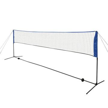 500 x 155 cm tollaslabda szett és háló - ingyenes szállítás