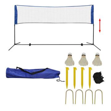 300 x 155 cm tollaslabda szett és háló - ingyenes szállítás