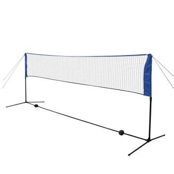 300 x 155 cm tollaslabda szett és háló - utánvéttel vagy ingyenes szállítással