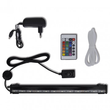 Vízalatti LED-es RGB buborékos akváriumlámpa 32 cm - utánvéttel vagy ingyenes szállítással
