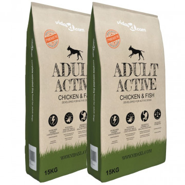 "2 db ""Adult Active Chicken & Fish"" prémium szá..."