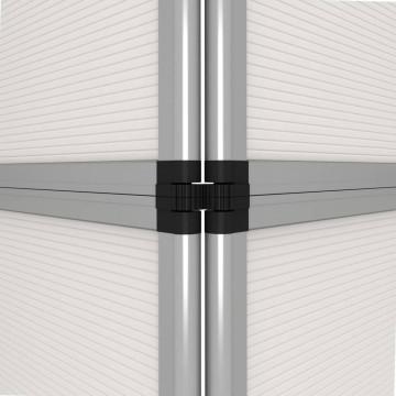 Fehér 8 paneles összecsukható kiállítófal - utánvéttel vagy ingyenes szállítással