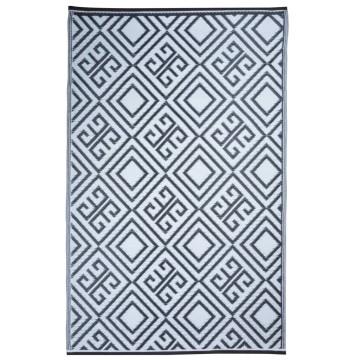 Esschert Design grafikai mintás kültéri szőnyeg 120 x 186 cm OC12 - utánvéttel vagy ingyenes szállítással