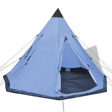 4 személyes kék sátor - utánvéttel vagy ingyenes szállítással