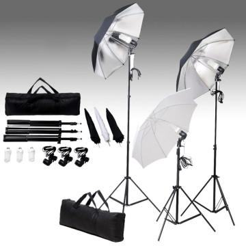 Fotóstúdió-felszerelés lámpákkal és háttérrel - utánvéttel vagy ingyenes szállítással