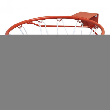 Kosárlabda Palánktartó Narancssárga Hálóval - utánvéttel vagy ingyenes szállítással