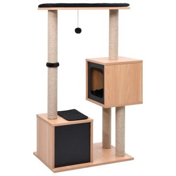 Macskabútor szizál kaparófákkal 104 cm - utánvéttel vagy ingyenes szállítással
