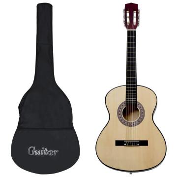 4/4-es klasszikus gitár kezdőknek tokkal 39