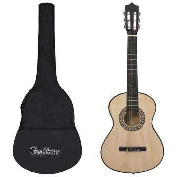 1/2-es klasszikus gitár kezdőknek és gyereknek tok...