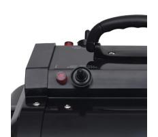 Fekete dupla motoros kisállatszárító - utánvéttel vagy ingyenes szállítással