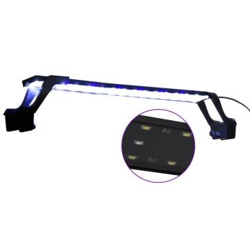 Kék és fehér LED-lámpa akváriumhoz szorítókkal 55 - 70 cm - utánvéttel vagy ingyenes szállítással