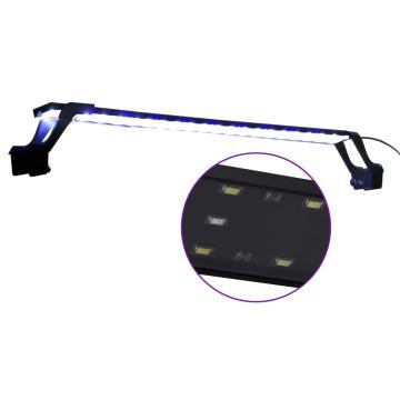 Kék és fehér LED-lámpa akváriumhoz szorítókkal 75 - 90 cm - utánvéttel vagy ingyenes szállítással