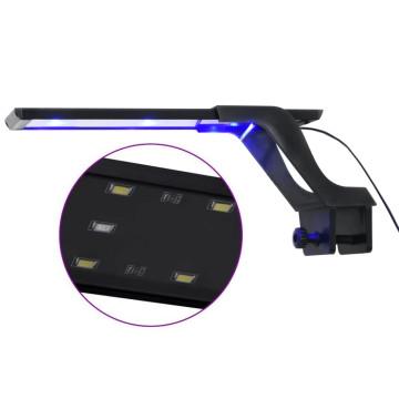 Kék és fehér LED-lámpa akváriumhoz szorítókkal 25 - 45 cm - utánvéttel vagy ingyenes szállítással