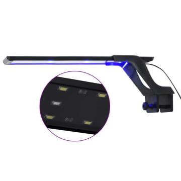Kék és fehér LED-lámpa akváriumhoz szorítóval 35 - 55 cm - utánvéttel vagy ingyenes szállítással