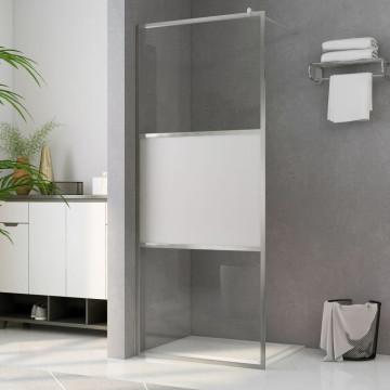 Zuhanyfal selyemmatt ESG üveggel 80 x 195 cm - utánvéttel vagy ingyenes szállítással