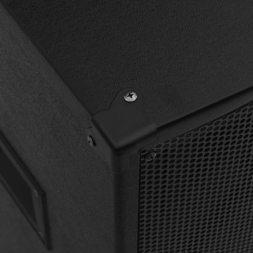 Fekete professzionális passzív hifi színpadi hangszóró 1000 W - utánvéttel vagy ingyenes szállítással