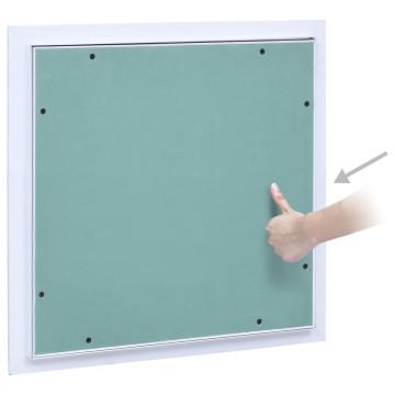 Alumínium keretes gipszkarton hozzáférési panel 300 x 300 mm - utánvéttel vagy ingyenes szállítással