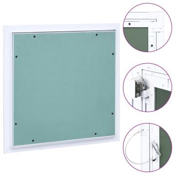 Alumínium keretes gipszkarton hozzáférési panel 400 x 400 mm - utánvéttel vagy ingyenes szállítással