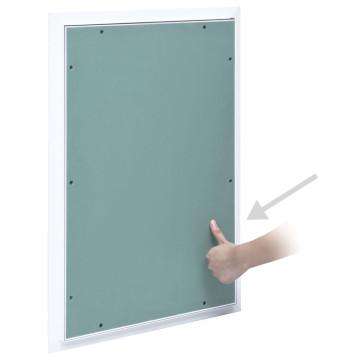 Alumínium keretes gipszkarton hozzáférési panel 400 x 600 mm - utánvéttel vagy ingyenes szállítással