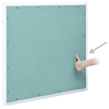 Alumínium keretes gipszkarton hozzáférési panel 500 x 500 mm - utánvéttel vagy ingyenes szállítással