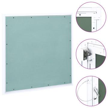 Alumínium keretes gipszkarton hozzáférési panel 600 x 600 mm - utánvéttel vagy ingyenes szállítással