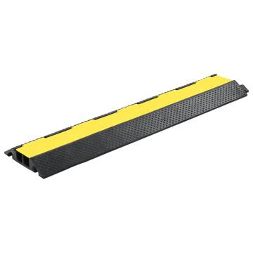 2 db kétcsatornás gumi kábeltaposó 101,5 cm - utánvéttel vagy ingyenes szállítással