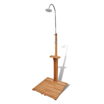Fából készült Kerti Zuhany - ingyenes szállítás